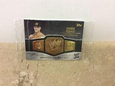 2014 Topps John Cena WWE Title Commemorative Championship Plate Card Sealed