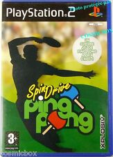 SPINDRIVE PING PONG jeu de sport pour console PlayStation 2 Sony PS2 complet
