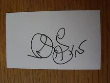50's-2000's Autographed White Card: James, Kevin - Nottingham Forest