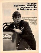 1971 DRINO MILLER WINNER BAJA  ~  NICE ORIGINAL AC PRINT AD