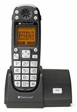 CLEAR SOUNDS A300 Dual Handsets Single Line Cordless Phone
