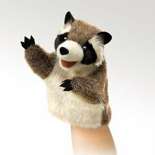 LITTLE RACCOON STAGE PUPPET #2932 ~  Free Ship/USA ~ Folkmanis Puppets