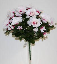 Bouquet Azalée x 12  Fleurs Artificielles intérieur/extérieur