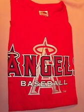 L.A. Angels T-Shirt, 2006  Red Cotton Men's XL - SGA - New!