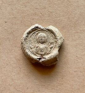 Byzantine lead seal of Theodoros Marchapsabos/Mother of God Nikopoios (11th c.)
