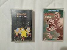 Queen cassettes K7 news of the world et a kind of magic