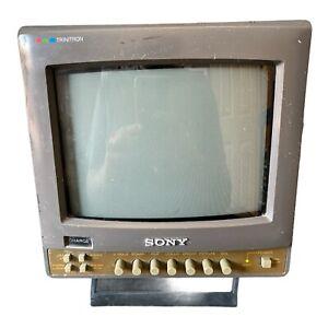 "Sony Trinitron Color Video Monitor PVM-8020 8"" Retro Gaming Nintendo PARTS ONLY"