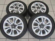 NEU Alu Winterräder orig Fiat MOPAR 500X 17 Zoll 6AN55U3JAA 735624967 MZ25101801