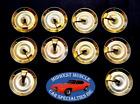 69-81 GM Fender Door Lower Belt Rocker Panel Moulding Molding Trim Clips 10pc IG