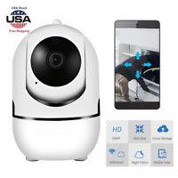 1080P HD Wireless Smart Home Security IP Camera Wifi PTZ Night Baby Monitor CCTV