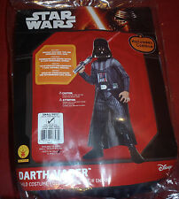 Halloween Star Wars Darth Vader Child Costume Rubies Size Small 4-6 Disney NEW!