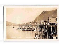 St2123: Docked Fishing Fleet Ketchikan Ak/Alaska (C1930'S-40'S Rppc/postcard)