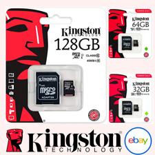 Kingston Tarjeta Micro SD 16GB 32GB 64GB 128GB Adaptador de selección de lona clase 10 100MB