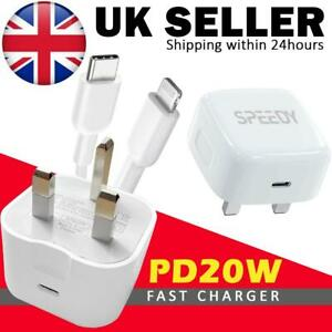 USB-C Fast Charging PD Charger Cable Plug for iPhone 13 iPhone 12 11 Pro XR MAX