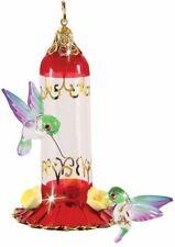 Glass Baron Hummingbird Feeder Ornament