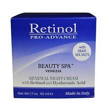 Retinol Pro-Advance Beauty Spa Venezia Renewal Night Cream 1.7 oz 50 ml