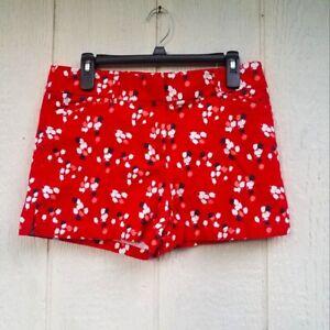 ann Taylor loft floral print the Riviera shorts size 8