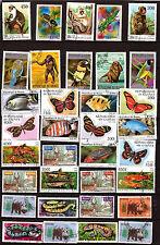 Rep. de Guinea : animales e insectos de terre,mar,air A388