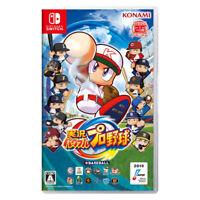 Jikkyou Powerful Pro Yakyuu Nintendo Switch 2019 Japanese Factory Sealed