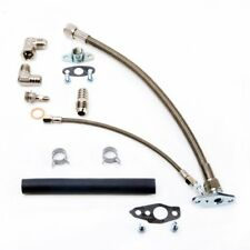 TRITDT Oil Feed & Drain Line Kit for TOYOTA 3S-GTE 3SGTE Rev 1 & 2 MR2 w/ CT26