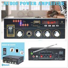 NEW 600W DC12V Car Digital Amplifier Wireless Bluetooth Stereo MP3 USB FM Audio