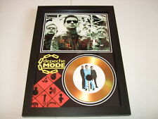 DEPECHE MODE SIGNED  GOLD CD  DISC  15