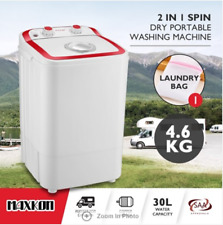 4.6KG Washing Machine Cleaner Top Load Washer Dryer Spin-dry, Rinse Self-drain