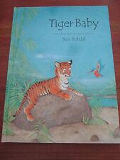 (E776) ALTES KINDERBUCH TIGER BABY SUSI BOHDAL IN ENGLISCHER SPRACHE EA 2001