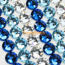 Swarovski Rhinestone Crystal ss5 Mix Color Crystal Aquamarine Sapphire Nail Art