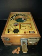 Antique Select'Em dice game coin machine,trade simulator 1933,slot machine ,