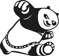 Kung Fu Panda Car Surf Vinyl Decal Sticker EURO JDM DUBV Funny Jap VW 4x4 laptop