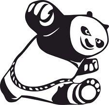 Kung Fu Panda Car Surf Vinyl Decal Sticker EURO JDM DUBV Funny Jap VW 4x4 laptop