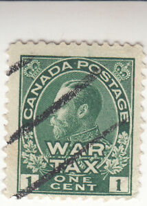 Canada 1915. One Cent. War Tax. KGV.  Used