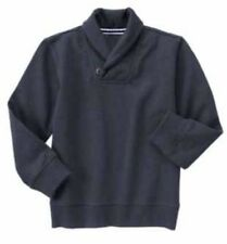 NEW Gymboree Boys Uniform Shop Grey Crew Neck Sweater Sweatshirt NWT S 5-6