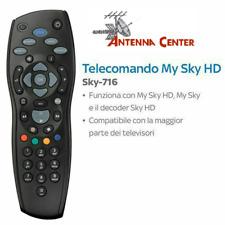 Telecomando SKY-716 Mini NUOVO per MySky HD, Sky HD DS830NS, DS831NS, DZS3001NS