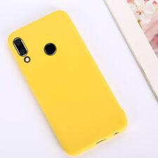 For Huawei Y9 Y7 Y6 Y5 2019/8 Shockproof Gel Silicone Case Matte TPU Back Cover