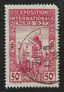 Algeria - 1937 World Expo - Paris 50c  (BX3)
