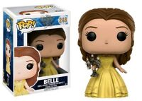 FUNKO POP DISNEY BEAUTY AND THE BEAST #248 BELLE (with CANDLESTICK) GAMESTOP 🎀