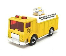Matchbox Mack Auxiliary Power Fire Truck yellow 1/84 China Superfast MBX