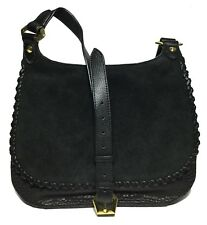 NWT orYANY Woman's Leather/Suede Cross Body, Black Color, Adjustable Strap
