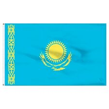 3x5 Republic of Kazakhstan Former Ussr State Flag 3'x5' Banner Brass Grommets