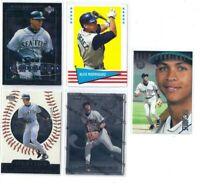 Alex Rodriguez - 5x Card Lot Topps Upper Deck Fleer Donruss Inserts - Mariners