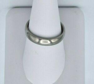 3MM Titanium Comfort Fit Plain Wedding Band Ring UNISEX Various Size 5-14