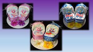 Windeltorte Windelwagen Baby Geschenk Geburt Taufe Geldgeschenk Zwillinge