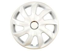 14 Inch Wheel Trim Set Gloss Black Set of 4 Univers Hub Caps Covers [STIG White]