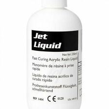 Dental Acrylic Tooth Jet Denture Repair Liquid 118 ml (4 oz.) LANG