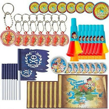 JAKE and the NEVER LAND PIRATES FAVOR PACK (48pc) ~ Birthday Party Supplies Red