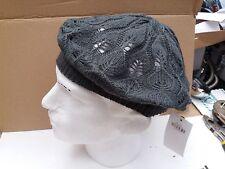 Donna Morbido Berretto/Cappello Beanie realizzati in morbido 100% Acrilico-Grigio