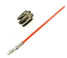 1/6 RAH Medicom Star Wars Darth Maul Lightsaber Binoculars Lot Last One!