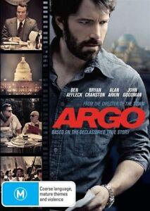 Argo (DVD) Region 4 Very Good Condition